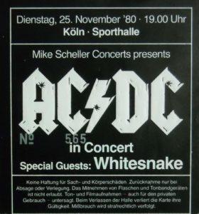 Acdc Ticket Köln